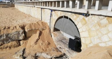 Work has begun to prevent flooding near Inatel de Albufeira