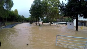 Flood in Albufeira