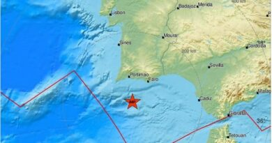 quake near Carvoeiro